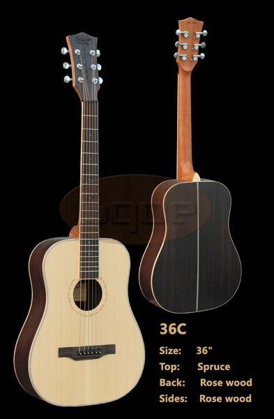 Sqoe Acoustic Guitar 36c Madison